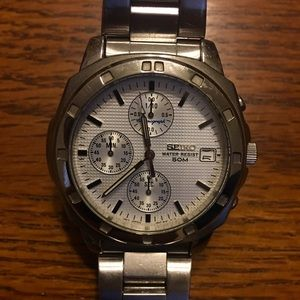 Seiko 5 Bar Chronograph Watch